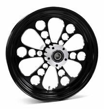motorcycle wheels and rims for 1989 harley davidson softail springer  kool kat black billet aluminum 16 3 5 rear wheel rim harley touring softail