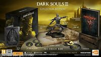 DARK SOULS 3 III COLLECTOR'S EDITION PS4 PAL UK NEW SEALED