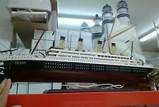 Nave titanic luci 98 cm miniatura PER BAR RISTORANTE TRATTORIA CASA COME VUOI TU