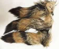 Professionally Tanned Grey Fox Tails (GFX-TL1) - Hide/Fur - Minnesota Brand