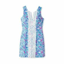 NWT - Lilly Pulitzer for Target - Women's My Fans Shift Mini Dress SIZE = 2
