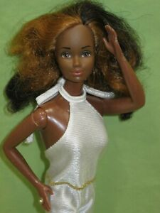 VINTAGE Superstar Barbie GOLDEN DREAM CHRISTIE African American DOLL in FF #5538