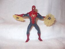 Marvel 2012 Movie Figure Spider-Man Red & Blue Silver Spinning Webs 6 inch loose