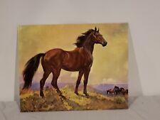 "Vintage Elmore Brown ""Horse"" Litho No. 129 Creative Manor Galleries"