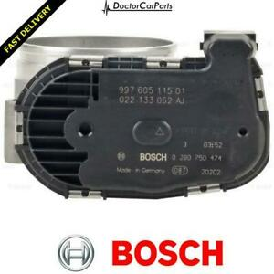 Throttle Body FOR PORSCHE 911 997 04->12 CHOICE2/2 3.6 3.8 Petrol Bosch
