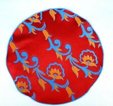 Lord R Colton Masterworks Pocket Round Como Red Floral Silk - $75 Retail New