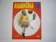 Complete STICKER ALBUM FUTEBOL WORLD CUP ARGENTINA 1978 no PANINI PORTUGAL PEPSI