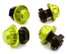 C26812GREEN Integy Machined Alloy 17mm Hex Wheel Hub (4) for HPI Savage XS Flux