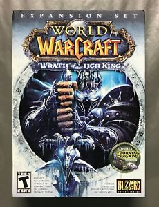 World of Warcraft: Wrath of the Lich King Blizzard PC 2008 Rated Teen