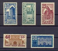 Danzig 262-66 postfrisch komplett (ts237)