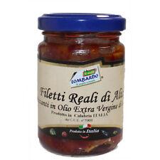 Filetti Reali di Alici Piccanti in olio extravergine di oliva Vasetto da 156 ml