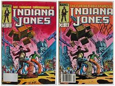 Hand Painted Signed Comic Book Cover Art Color Guide Indiana Jones Marvel Comics