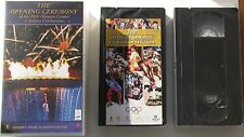 THE OPENING CEREMONY OF THE 2000 SYDNEY OLYMPIC GAMES BRAND NEW AND SEALED VHS