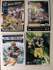 Brett Favre Green Bay Packers Legend 6 Card Lot NFL Football Cards