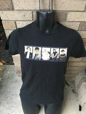One Direction Four Band Image Adult Black T Shirt Boy Band Pop Music Small