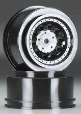Revolver Wheels Black Traxxas Slash 2WD REAR / HPI Blitz by RPM RPM82332