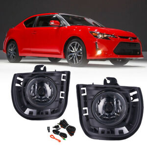 For 2014-2016 Toyota Scion TC/ZELAS Fog Lights Lamps Pairs w/Switch Wiring