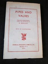 Pipes and Valves Vintage Engineering E. Molloy Barrel,Cast Piping Installation