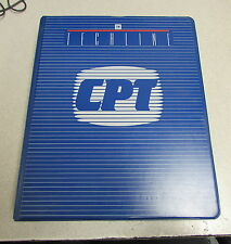 Techline CPT 4T40E Transmission GM Service Know How VHS Manual 57015.00