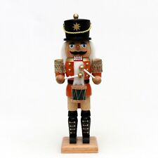 Riesen Nußknacker Nussknacker Nutcracker Trommler 30 cm farbig mit Trommel 30170