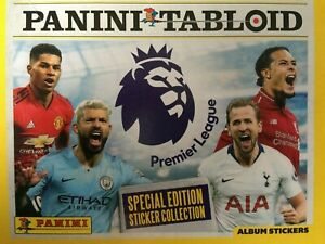 PANINI TABLOID STICKER COLLECTION 2019