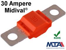 30A MIDI Sicherung (30mm) KFZ LKW Flachsicherung Schraubsicherung MTA Qualität