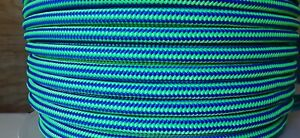 """1/2"""" x 600 ft. Dendrolyne  Double Braid Polyester Arborist / Industrial Rope ."""