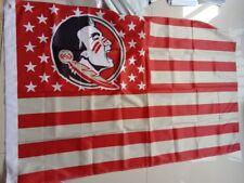Florida State University Seminoles flag Stars & Stripes Banner 3'x5' US Shipper