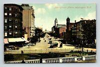 WASHINGTON D.C. OLD VIEW OF PENNSYLVANIA AVENUE POSTCARD A-5-2