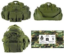 The Tank Duffel Bag + FREE SURVIVAL BRACELET/BOB/Tactical/Military - OLIVE GREEN