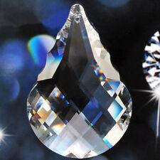 Chandelier Glass Crystal Prism Lamp Part Hanging Drop Pendant Suncatcher 50mm