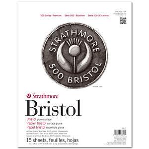 Strathmore 500 Bristol 2Ply Plate 11X14 Pad
