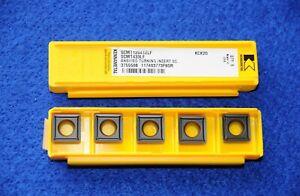 10 Stück Kennametal Wendeschneidplatten SCMT 120412LF #46