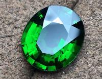 Natural Mined 4.11ct Green Emerald Gems Emerald Cut VVS AAAAAA+  Loose Gemstone