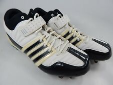 Adidas Brute Force 2 Fly Mid Top Size 11 Men's Molded Lacrosse Shoes White/black