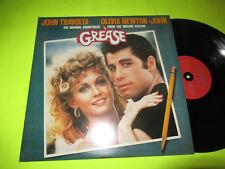 GREASE - SOUNDTRACK OST 2 LP RARE FRENCH PRESS EX