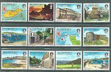 Alderney Guernsey Stamps - Scenes Set - 1983 - MNH