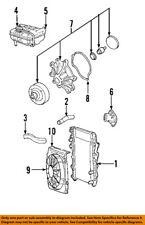 Jeep CHRYSLER OEM 02-06 Liberty-Radiator 52080120AE