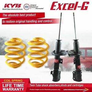 Front KYB EXCEL-G Shock Absorbers Lowered King Springs for SUZUKI Swift RS415 I4