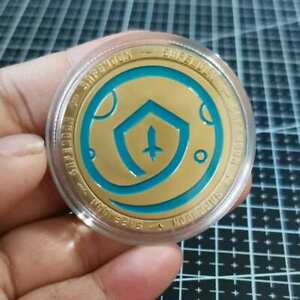 SAFEMOON COIN Digital Money Coin Gold Plated Crypto Cryptocurrency Collectible