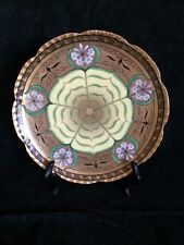 """Pickard Hand Painted, Signed """"Lily Palmate"""" Plate"""