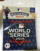 2019 World Series Patch MLB Baseball Jersey Patch - Washington Nationals Astros
