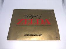 Legend of Zelda NES Nintendo Instruction Manual Only