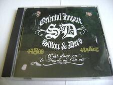 Oriental Impact - Sillon & Derv - C'est donc ça le monde où l'on vit - CD