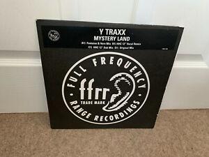 """Y Traxx – Mystery Land x 2 12"""" PROMO"""