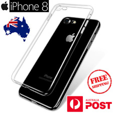 iPhone 8 Transparent Ultra Thin Soft Clear TPU Tough Silicon Gel Cover Case
