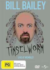 Bill Bailey - Tinsleworm-DVD LIKE NEW CONDITION FREE POSTAGE AUSTRALIA REGION 4