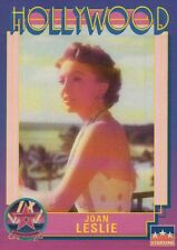 Joan Leslie, Actress, Hollywood Star, Walk of Fame Trading Card --- NOT Postcard