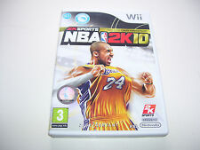 A2KSports NBA 2K10 Tenth Anniversary 1999 - 2009  * NINTENDO WII PAL GAME  *