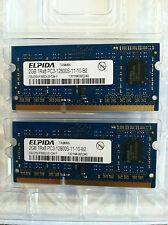 2X 2GB RAM cards for MacBook Pro